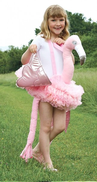 Flamingo Reiter Kinderkostüm