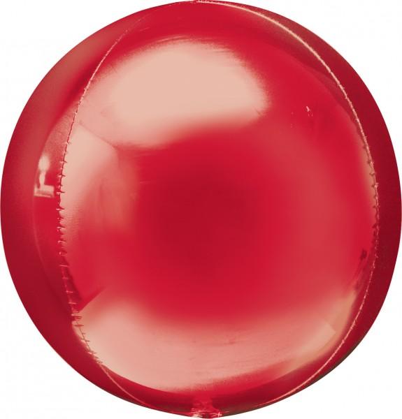 Globo bola en rojo