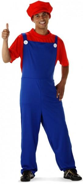 Super Klempner Mourice Kostüm