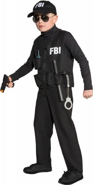 Coole FBI Agenten Kinder Weste