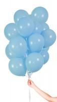 30 Latexballons Hellblau 23cm