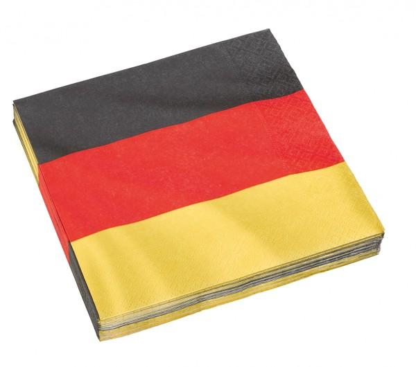 20 Deutschland Servietten