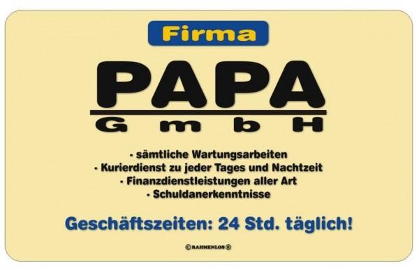 Papa GmbH Frühstücksbrettchen