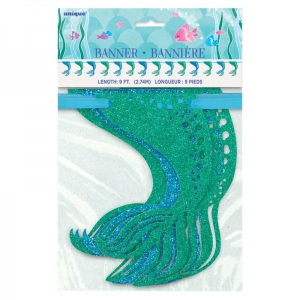 Guirlande sirène magique Sirena 274cm