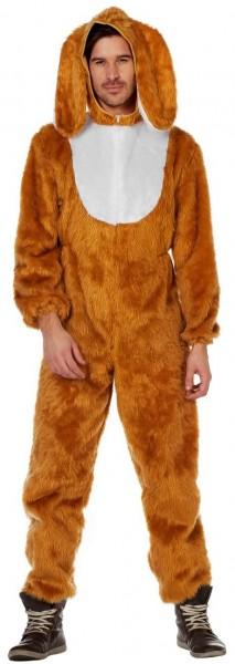 Puszysty kostium królika z uszami