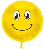 Folienballon Happy smile Emoji 45cm