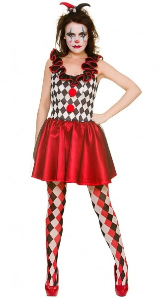 Jokerlady Joana Kostüm Für Damen