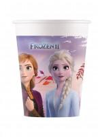 8 Frozen 2 Destiny Awaits Becher 200ml kompostierbar