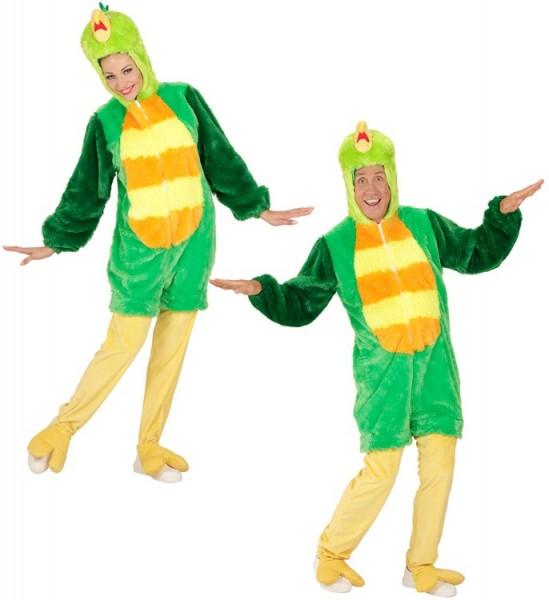 Papagei Pepe Plüsch Unisex Kostüm