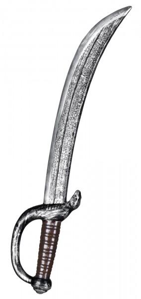 Silbernes Piratenschwert 53cm