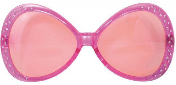 Jewel Partybrille in Rosa