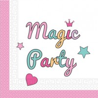 20 Magic Party Servietten 33cm