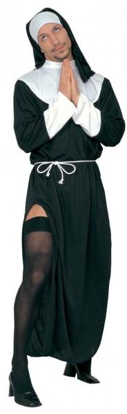 Reizendes Nonnen Herrenkostüm