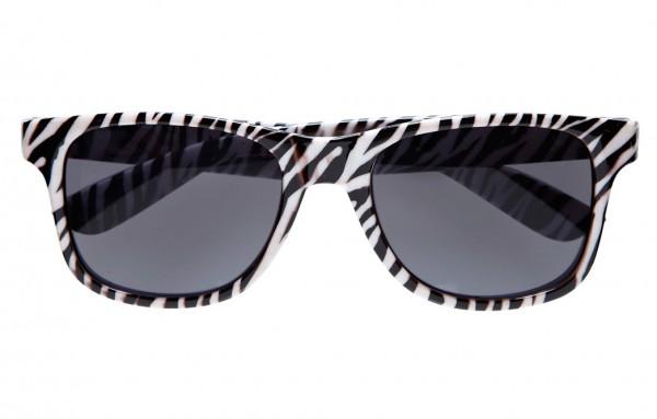 Stylische Zebra Sonnenbrille