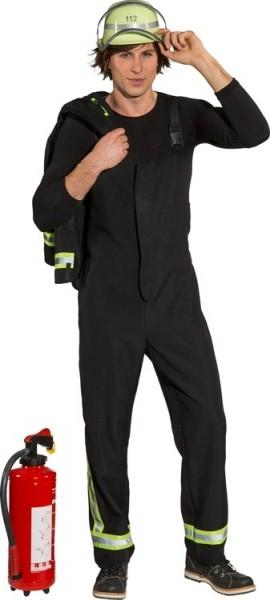 Brandweerman uniform herenkostuum