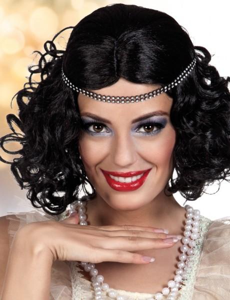 Karolin Diva Perücke Mit Stirnband
