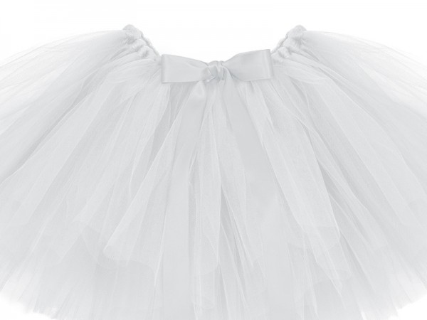 Weißes Ballerina Tutu 50 x 25cm