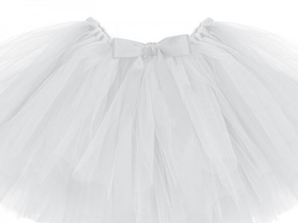 Bel tutù bianco 50x25cm