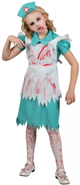 Horror Krankenschwester Kinderkostüm