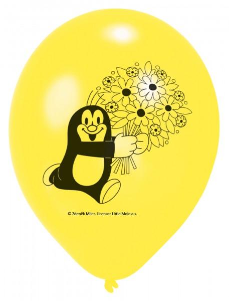 Der Kleine Maulwurf Ballons 6er-Pack