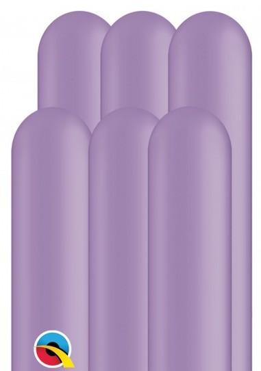 100 balonów modelarskich 260Q lawendowych 1,5m