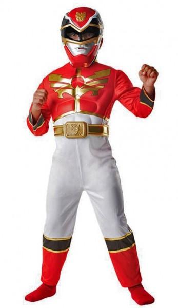 Rotes Power Ranger Megaforce Kinderkostüm