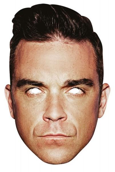 Masque en carton Robbie Williams