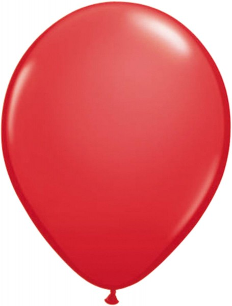 10 latex balloons Stani red 30cm