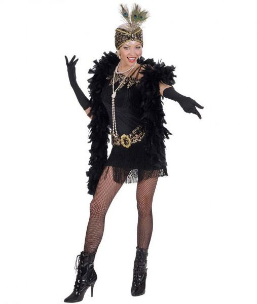 Eleganter Damenhandschuh Schwarz