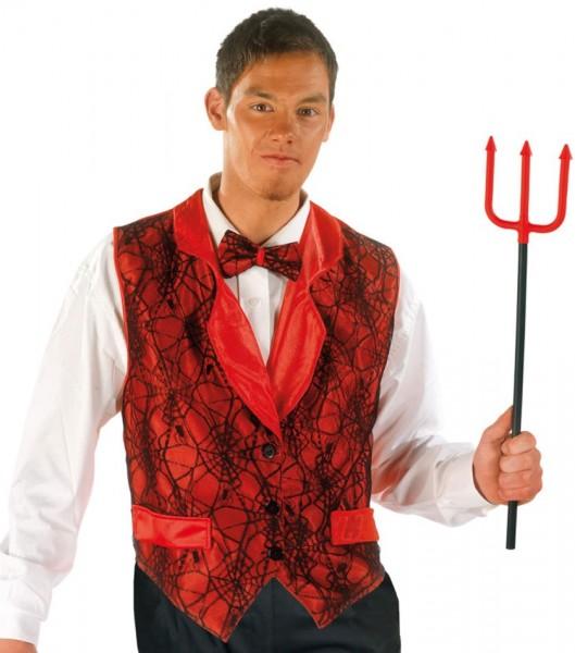 Elegante costume da uomo del diavolo
