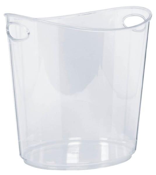 Transparenter Eis-Container