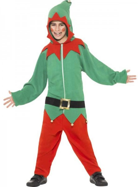 Children's Christmas elf costume