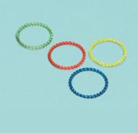 Kindergeburtstag Birthday Girl Armband Bunt 4 Stück