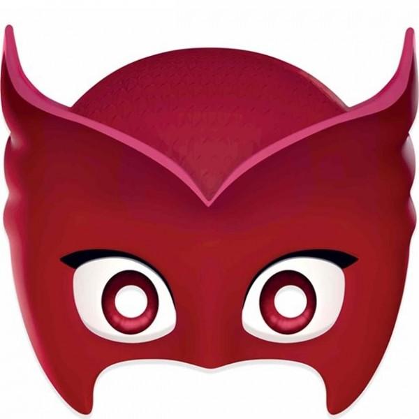 Masque en carton Owlette pour enfants