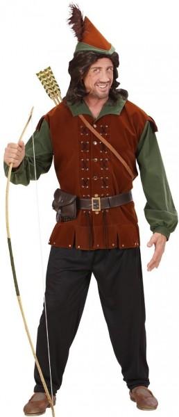 Bogenschütze Robbie Hood Herrenkostüm