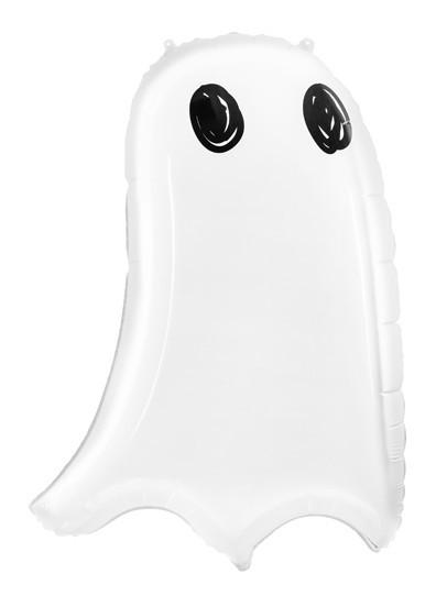 Ballon aluminium Boo Town Ghost 48 x 68 cm