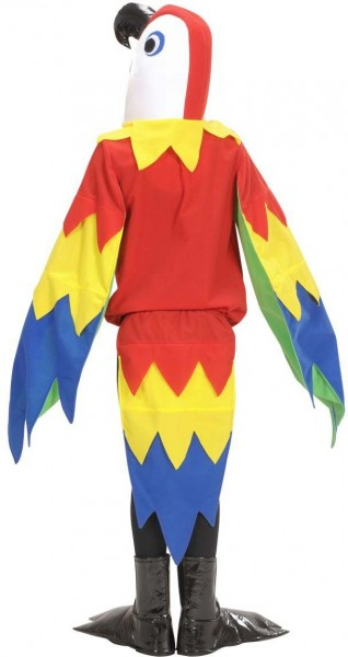 Parrotti Papagei Kinderkostüm