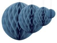 Wabenball Lumina blau 30cm