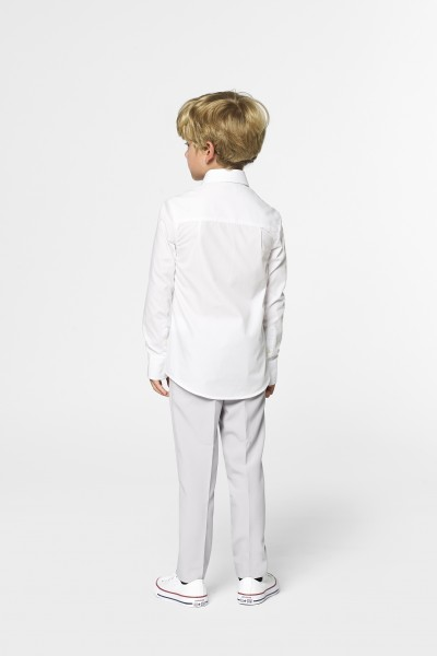 OppoSuits children's shirt White Knight