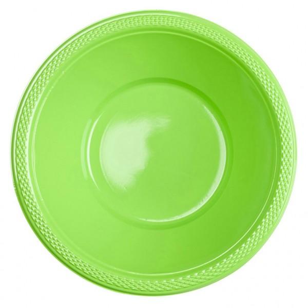 10 party buffet bowls kiwi 355ml