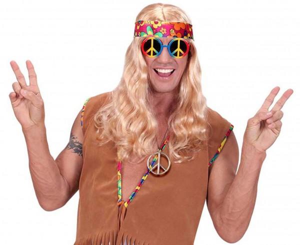 Hippie Peace Zeichen Halskette 4
