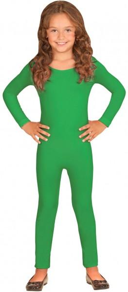 Body enfant manches longues vert