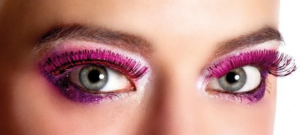 Diva Deluxe Wimpern In Metallic Pink