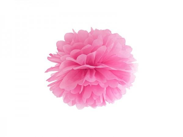 Pompon Esmeralda rosa
