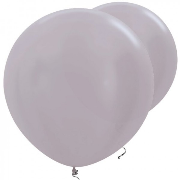 2 ballons Taupe XL 91cm