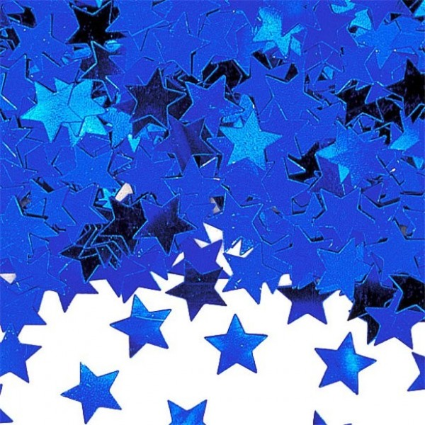 Stern Konfetti Blau 14g