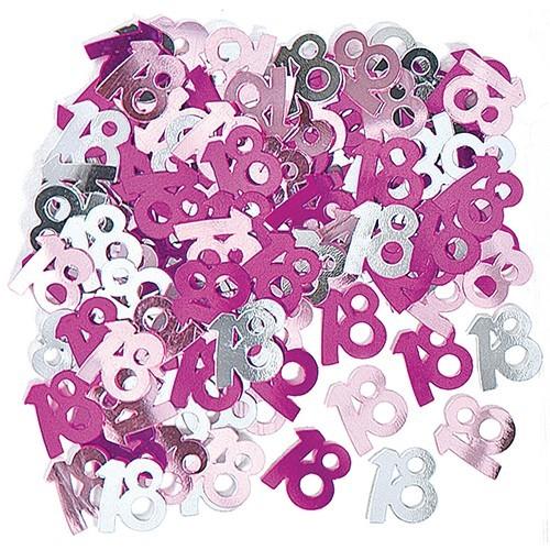 18. Geburtstag Pinkes Streudeko Wunder 14g 1