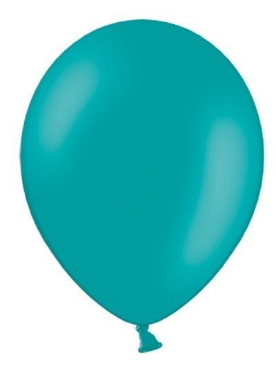 100 Ballons Nina Türkis 12cm
