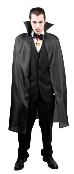 Vampire cloak dark count in black
