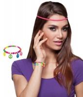 Peace Hippie Perlen Armband